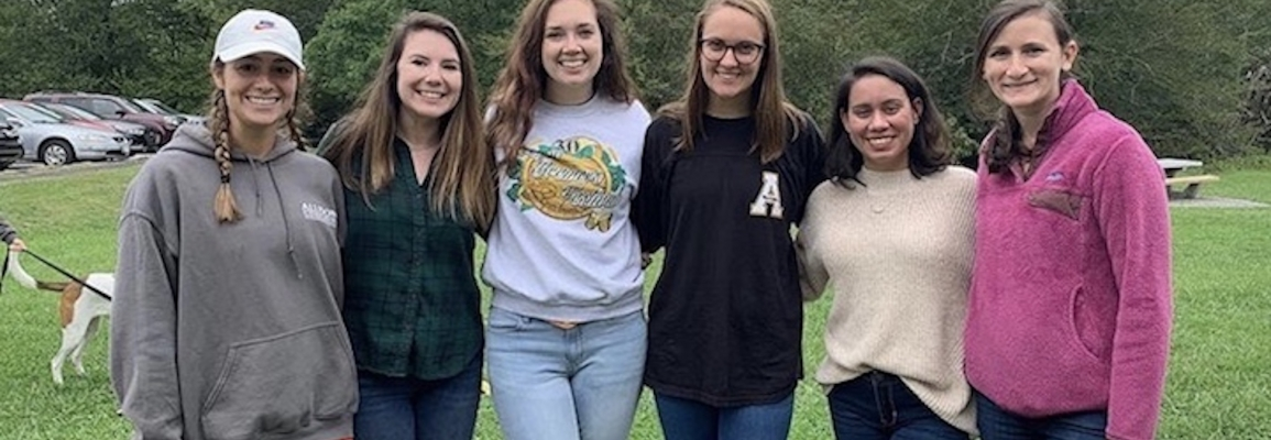 Students at Potluck Event August 2019
