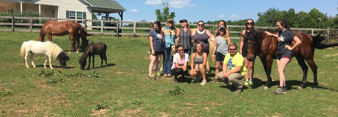 Equine Therapy Class Summer 2019