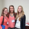 PSC students pose before the poster session