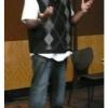 Dr. Nickolas Jordan presenting at HPC's spring in-service on social media
