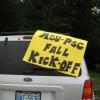 ASU-PSC Fall Kick Off sign