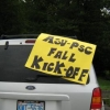 ASU-PSC Fall Kick Off sign